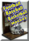 Sports Memorabilia Plaques